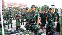 Panglima TNI cek kesiapan prajurit Yonif 132/BS jaga perbatasan RI-RDTL