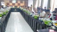 Suasana RDP membahas Penyesuaian NJOP PBB