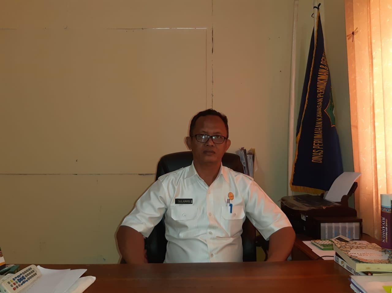 Sulaiman Fachrani, Kepala Dinas Perumahan, Kawasan Pemukiman dan Pertanahan Kab. Bombana (Foto : Istimewa)