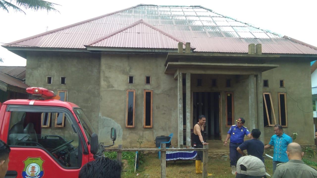 Rumah Warga Desa Watukalangkari yang Nyaris habis dilalap sijago merah