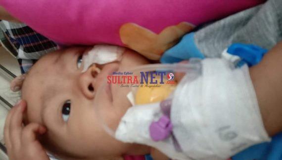 Muhammad Anan, Balita penderita Tumor Mata