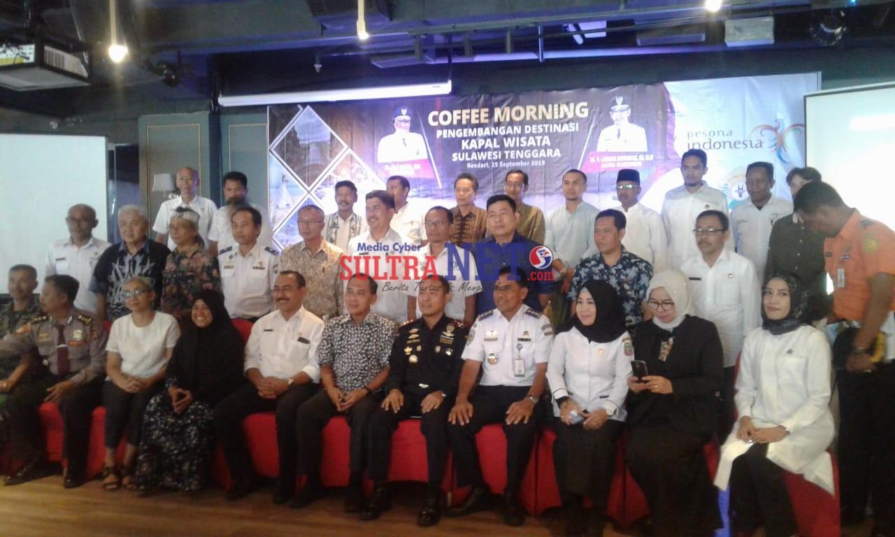 Coffe Morning Pengembangan Destinasi Kapal Wisata Sulawesi Tenggara
