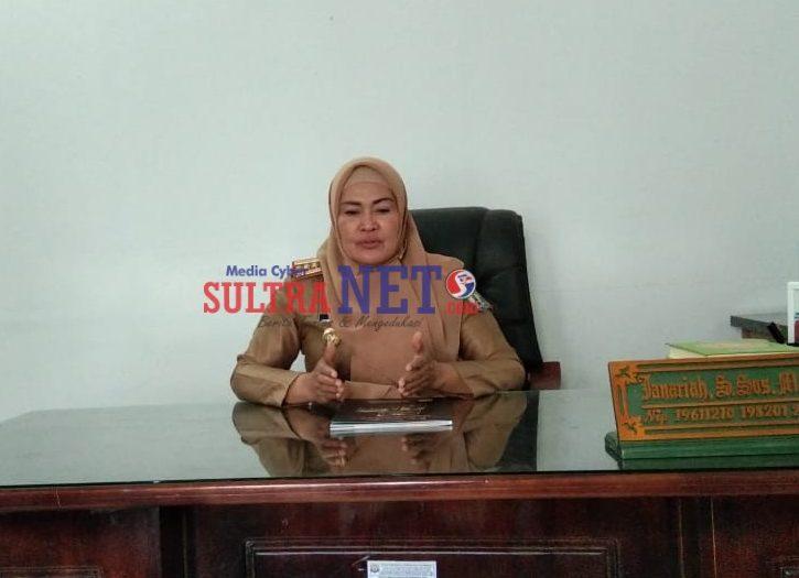 Kepala Dinas Pariwisata Kabupaten Bombana, Janariah, S.Sos., M.Si