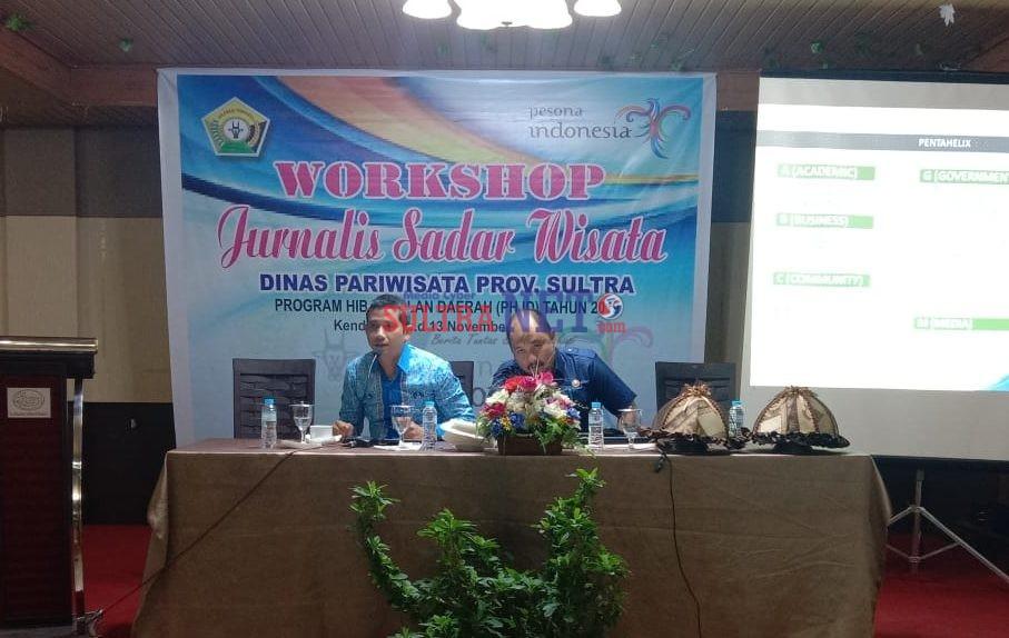Workshop Jurnalis Sadar Wisata