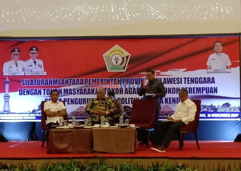 Foto Kegiatan Silaturahmi Pemprov Sultra dengan Stakeholder