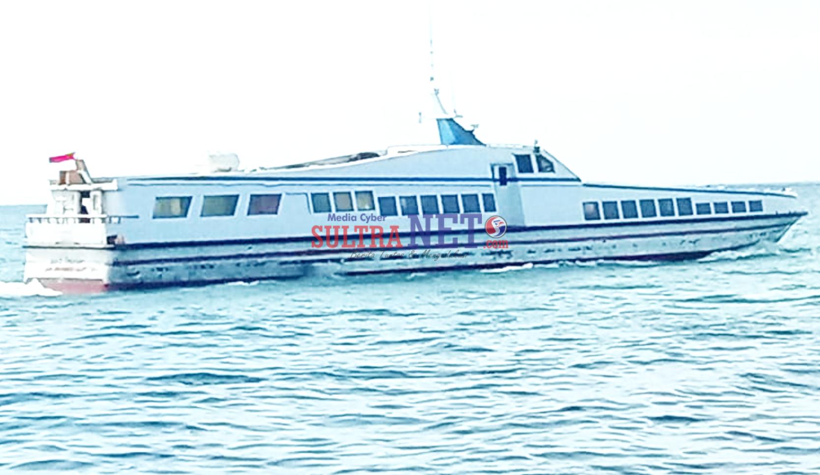 Foto Superjet 10 yang bakal melayani pelayaran di Dombana