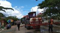 Penyemprotan Jalan Ibukota Bombana