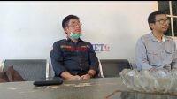 Makmur Darwis, Ketua Tim Monev Terpadu [kiri] dan Hasrullah Admin PT Trias Jaya Agung [Kanan]