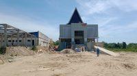 Gedung Rawat Inap (VIP) Badan Layanan Umum Daerah Rumah Sakit Umum Daerah (BLUD RSUD) Kabupaten Bombana yang belum tuntas pengerjaannya