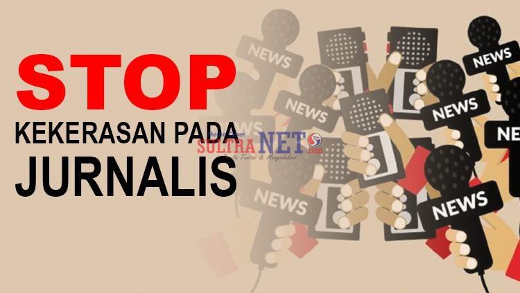 Ilustrasi Stop Kekerasan terhadap Wartawan (Sumber Internet)