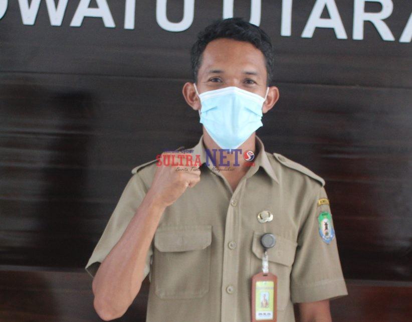Kepala PKM Rarowatu Utara. Satar, SKM., M.Kes
